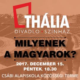 Csábi Színházi Esték 2017 - Thália Színház