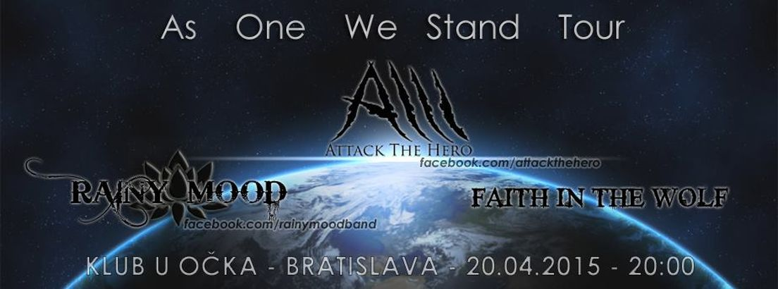 Attack The Hero - As One We Stand Tour Pozsonyban