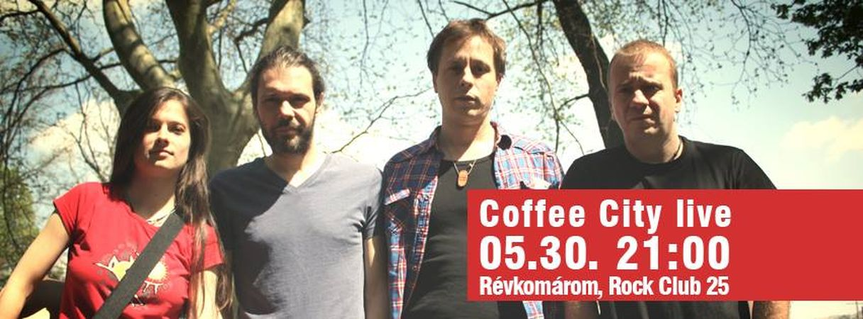 Coffee City élő koncert Komáromban