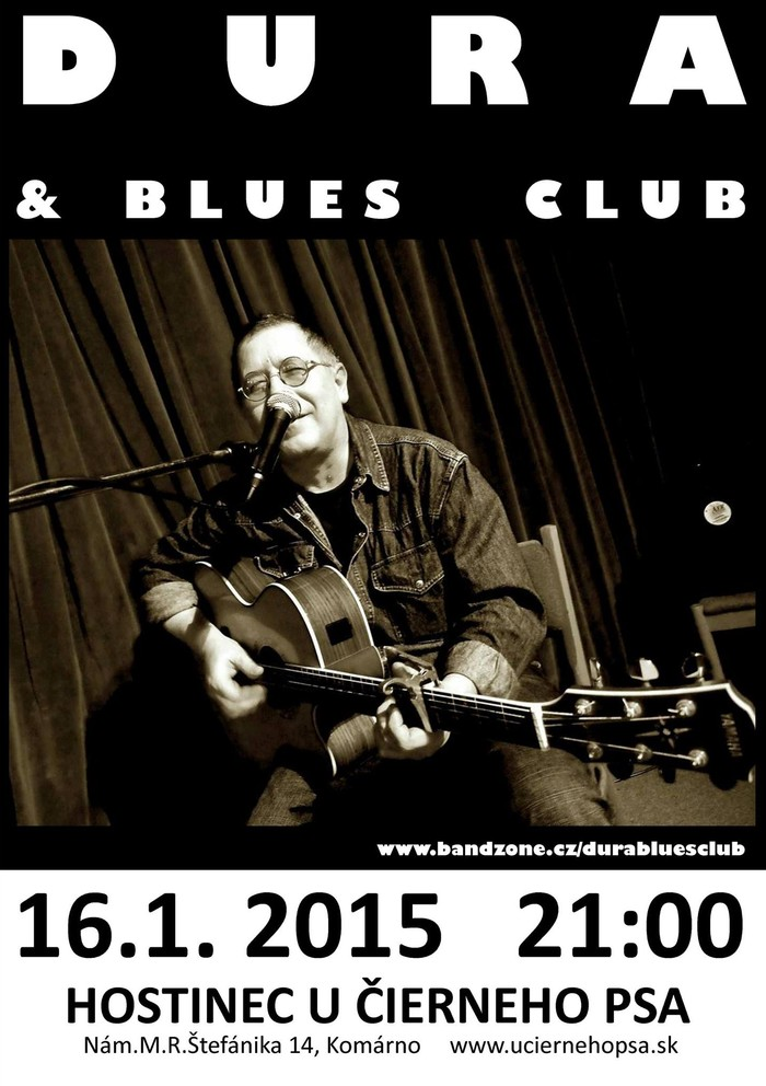 Dura & Blues Club koncert Komáromban