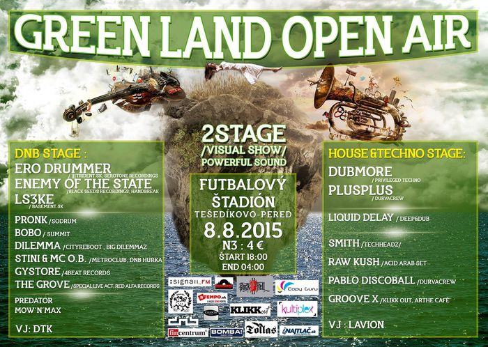 Green Land Open Air Pereden