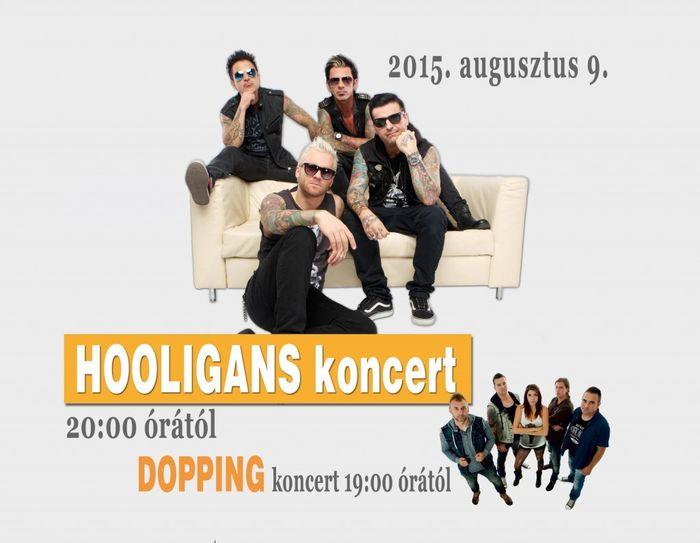 hooligans naptár Hooligans és Dopping koncert Sárospatakon | ATEMPO.sk | Szlovákiai  hooligans naptár