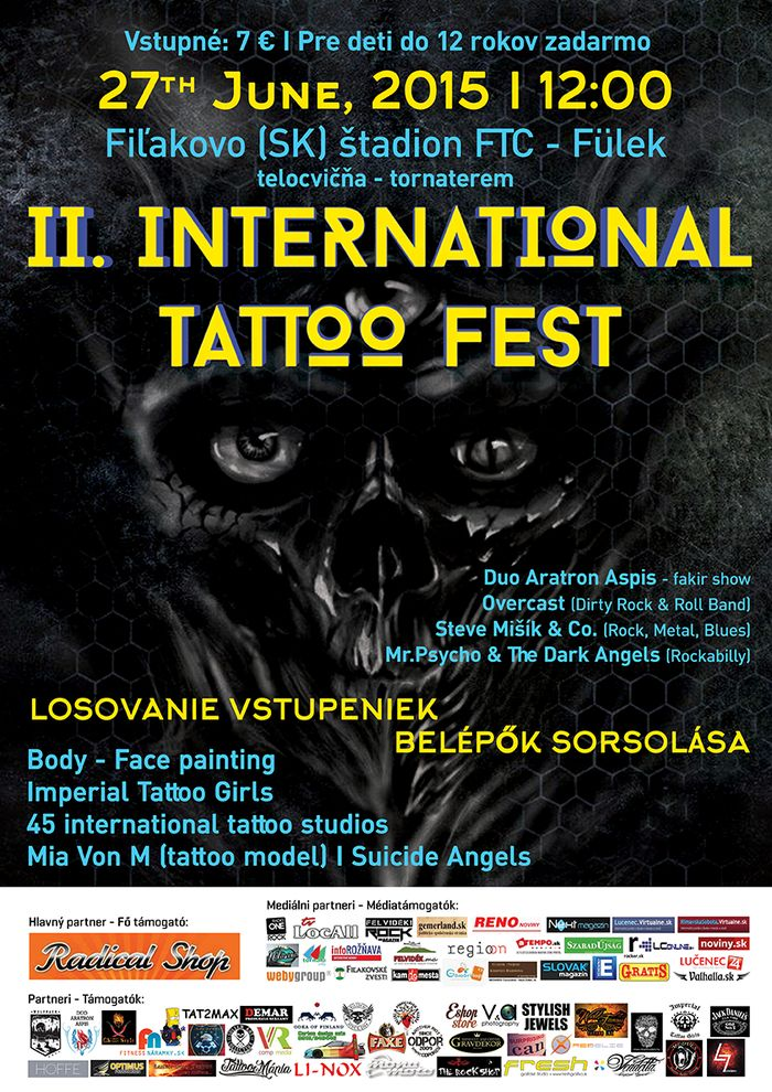 2. International Tattoo Fest Füleken