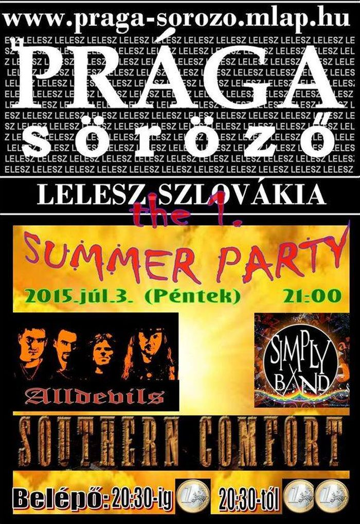 The 1. Summer Party - Lelesz
