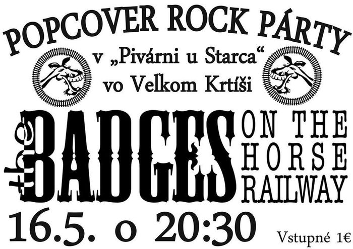 The Badges on the Horse railway koncert Nagykürtösön
