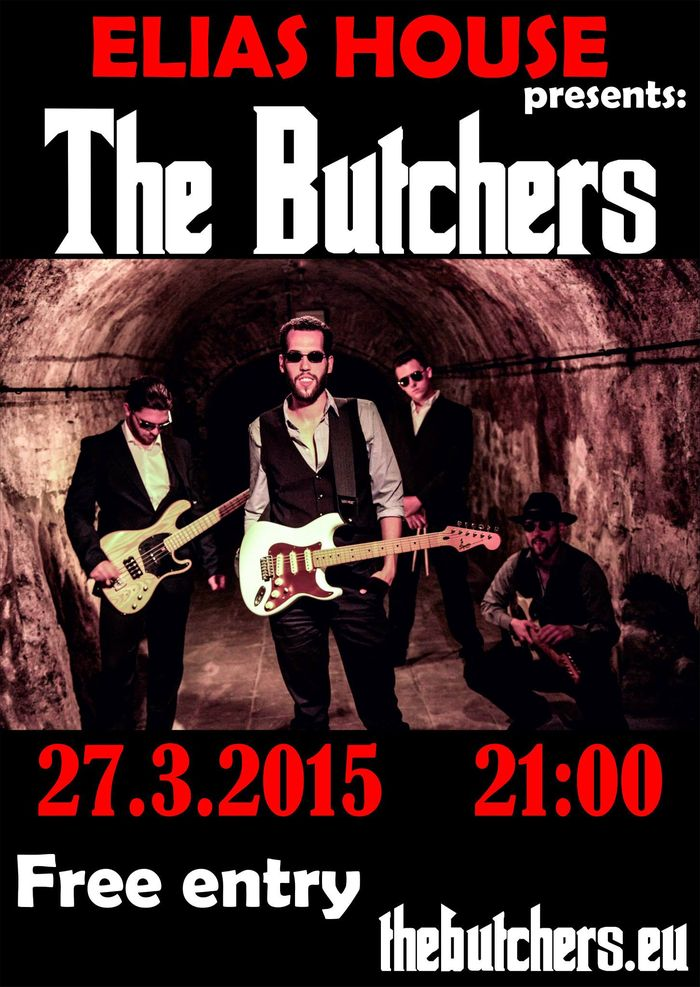 The Butchers koncert Szencen