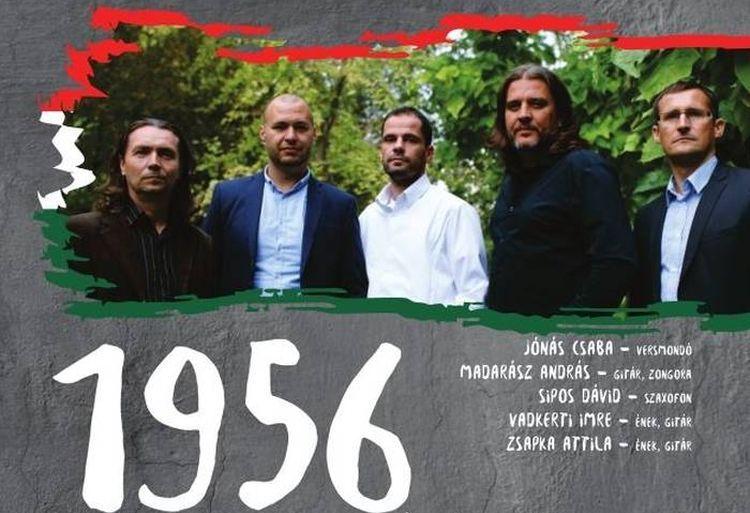 jónás naptár magyar 1956   Zsapka,Vadkerti, Sipos, Madarász, Jónás   koncert  jónás naptár magyar