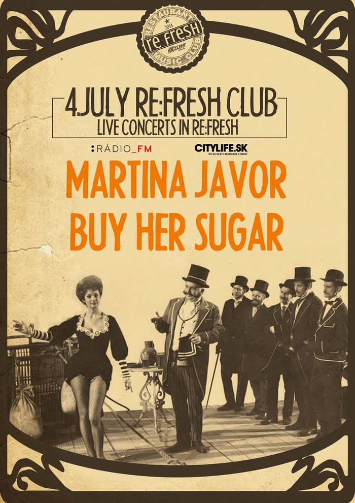 Martina Javor & Buy Her Sugar live Pozsonyban