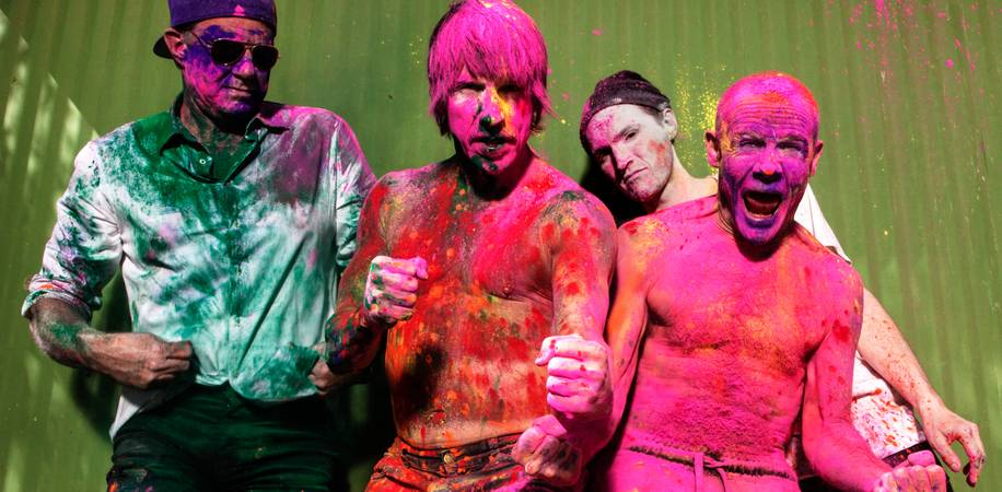 Red Hot Chili Peppers koncert Budapesten