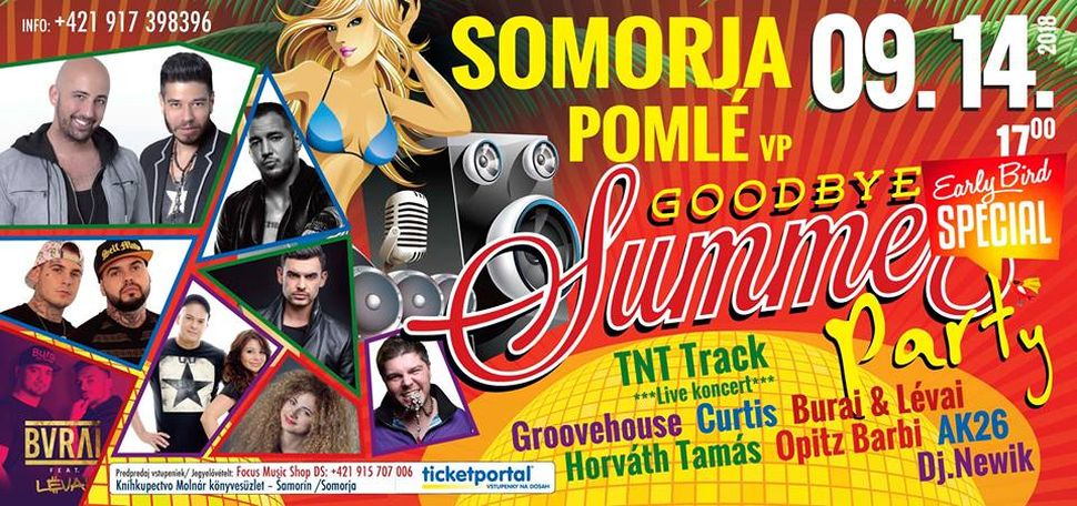 Goodbye Summer Party Somorján 2018-ban is