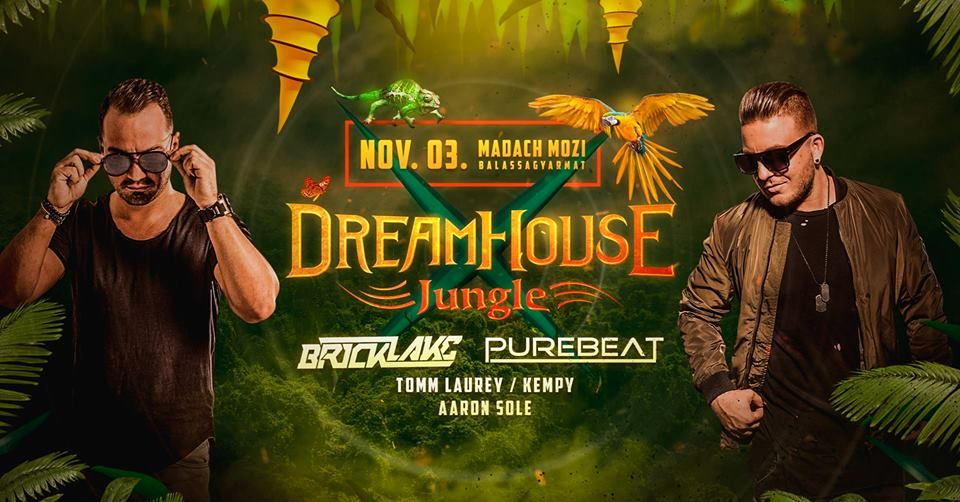 Jungle - Dream House Party Balassagyarmaton