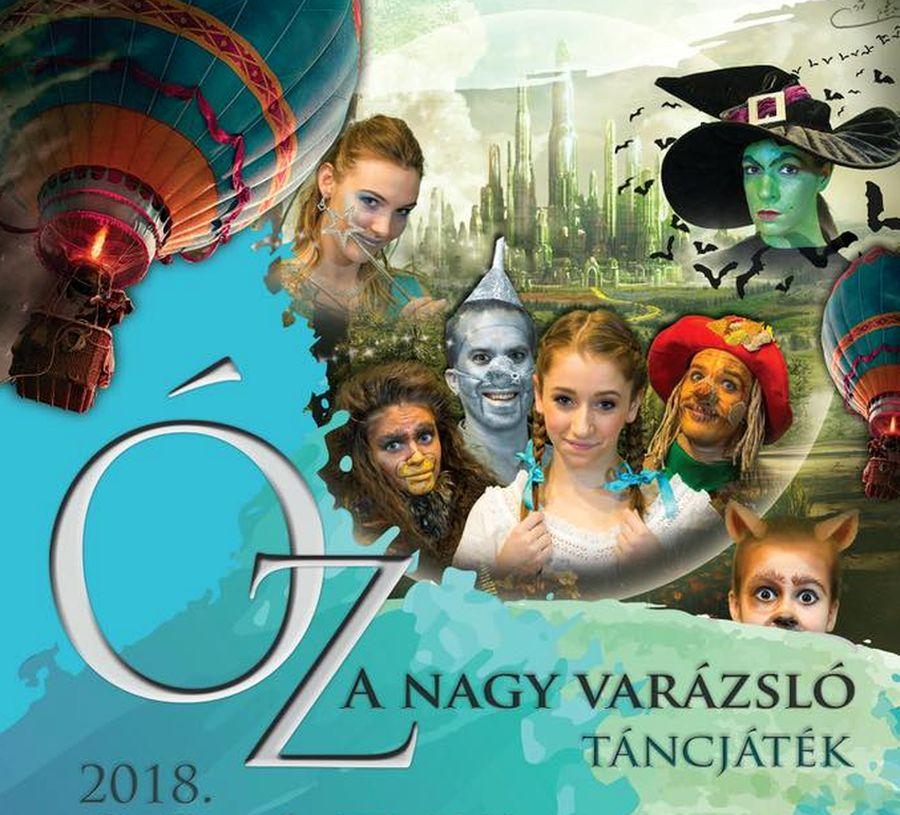 naptár varázsló Óz, a nagy varázsló   Mirage Színház táncjátéka Komáromban  naptár varázsló