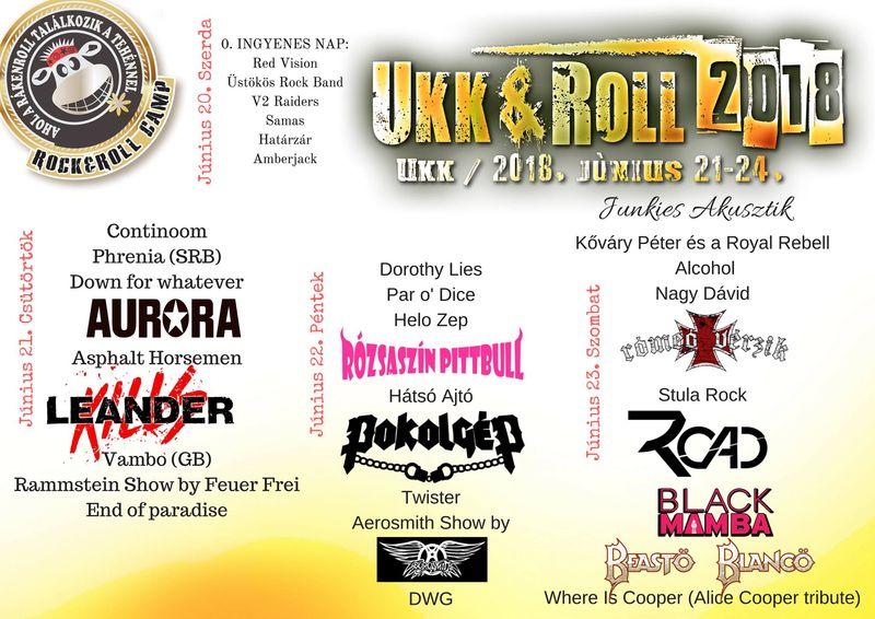 f2dbe467d6 Ukk&Roll - rock és motoros hétvége Ukkon 2018-ban is - második nap ...