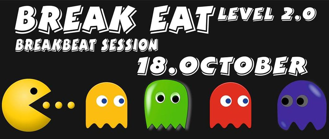 Break Eat Level 2.0 - Breakbeat Session buli Komáromban