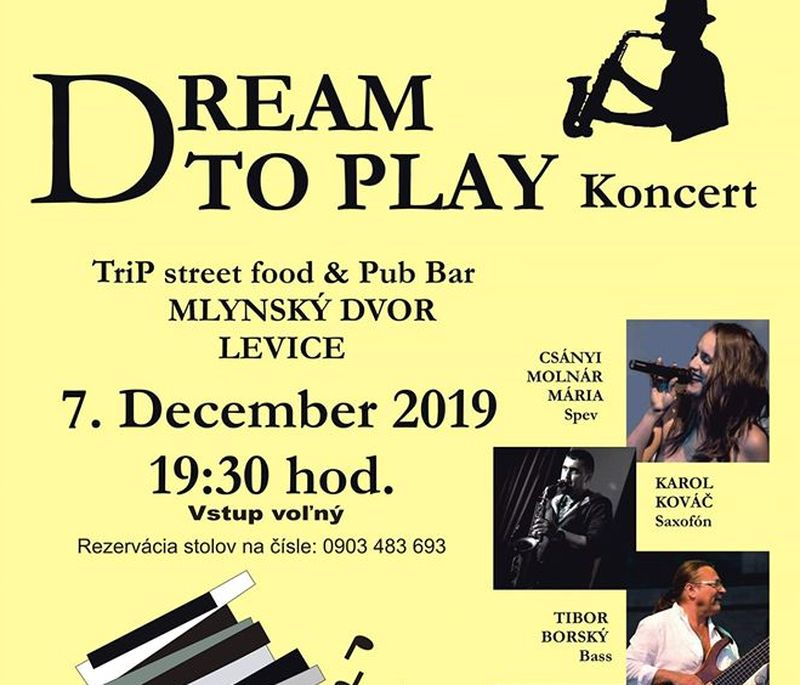 Dream To Play koncert Léván