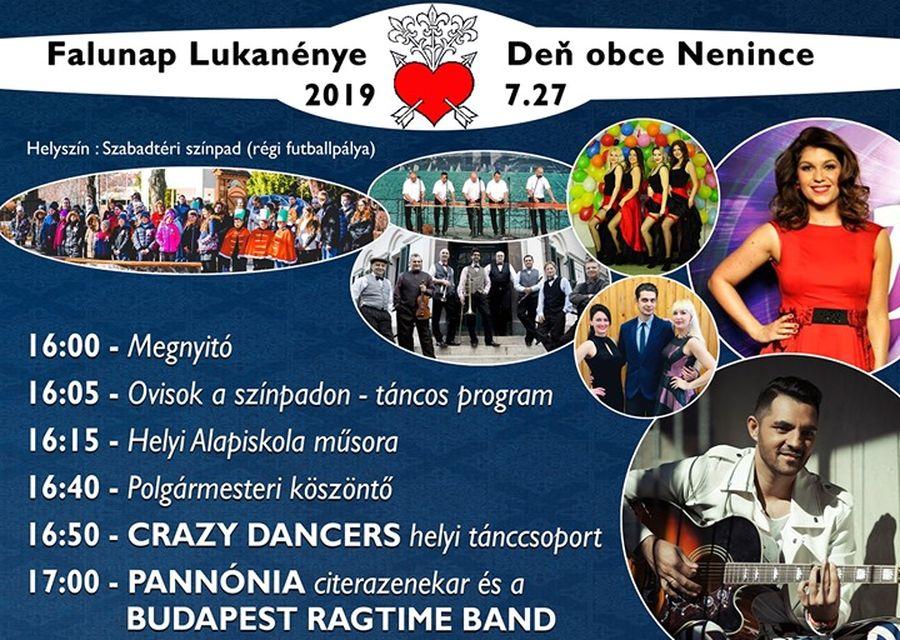 Oláh Gergő és Nika a Lukanényei Falunapon - részletes program