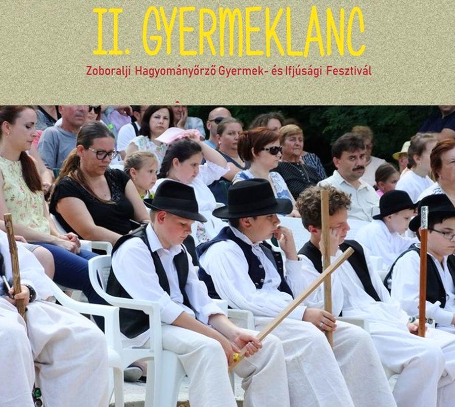 II. Gyermeklánc Zoboralji Hagyományőrző Gyermek- és Ifjúsági Fesztivál Alsóbodokon