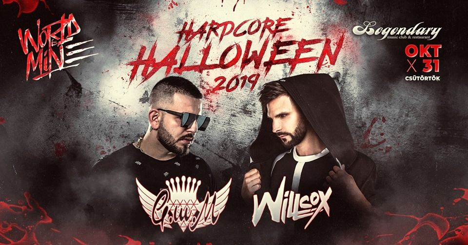 World is Mine - Hardcore Halloween 2019 party Dunaszerdahelyen