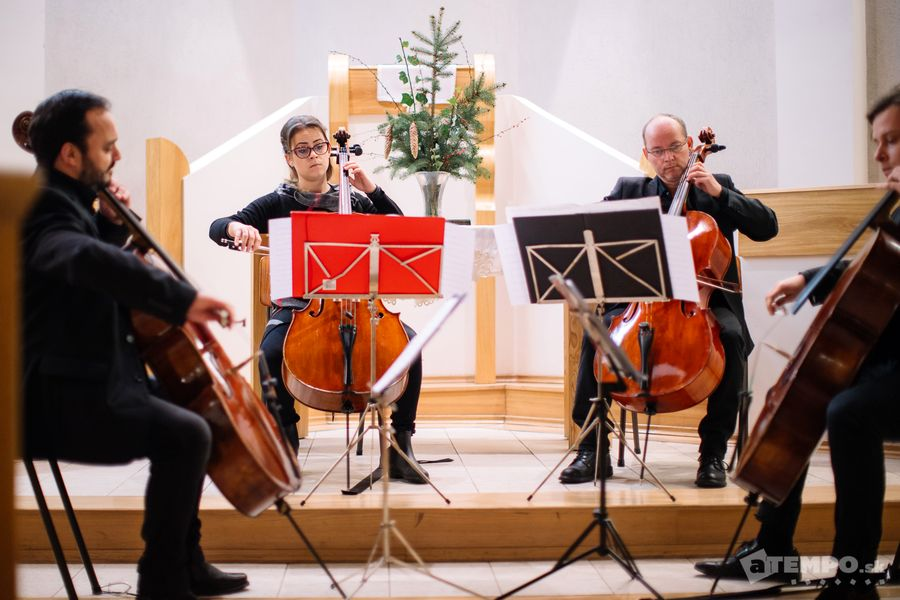 A Rácz Cello Quartett koncertje Marcelházán
