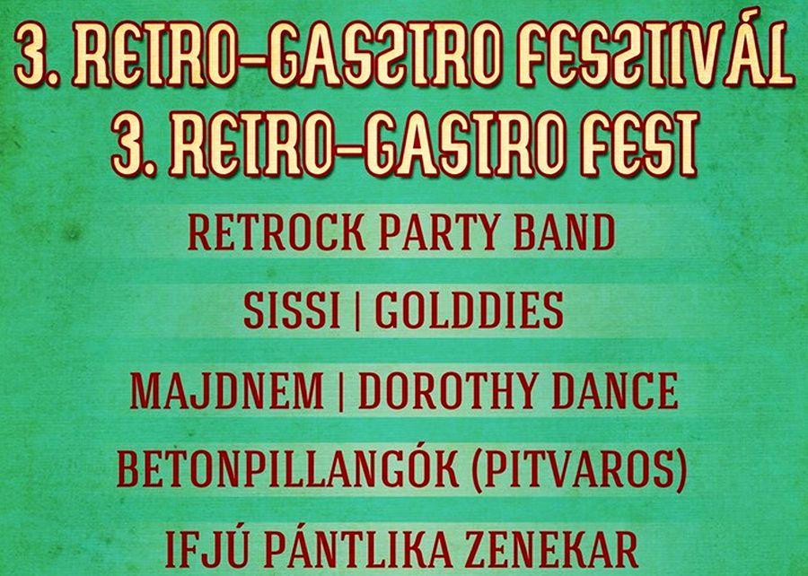 III. Retro-Gasztro Fesztivál Vezekényen