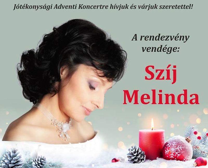 Jótékonysági koncert Szíj Melindával Rimaszécsen