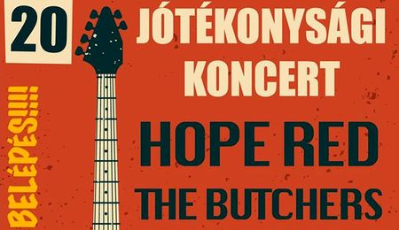 Hope Red, The Butchers, Aylen's Fall és Totalica koncert Dunaszerdahelyen
