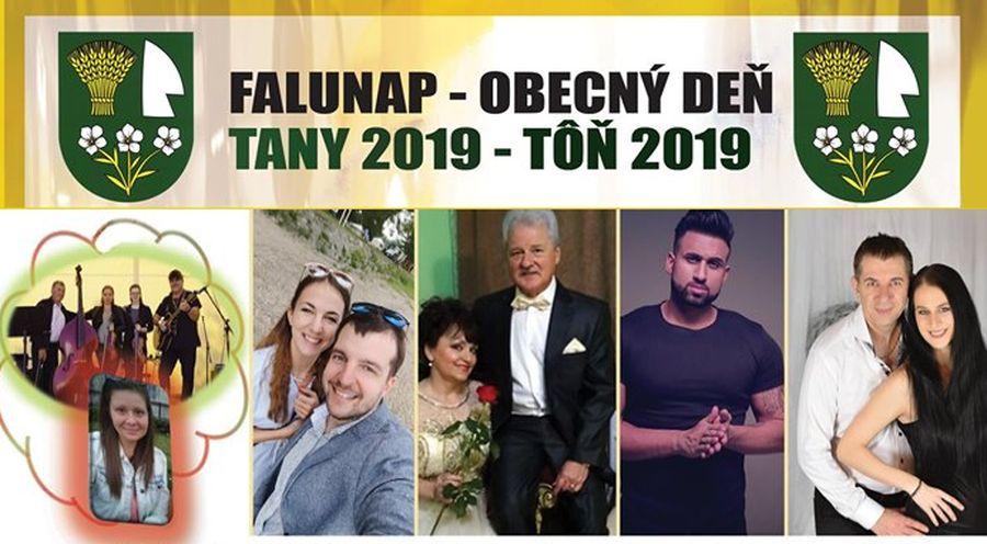 Tanyi Falunap 2019-ben is - részletes program