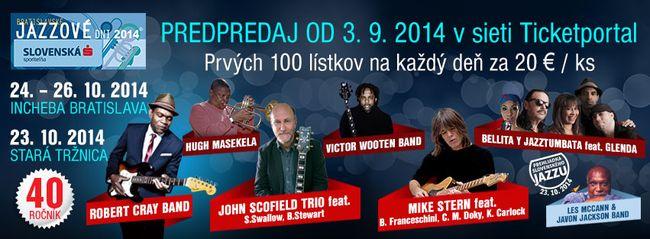 20014 naptár 40. Pozsonyi Jazz Napok   negyedik nap | ATEMPO.sk | Szlovákiai  20014 naptár