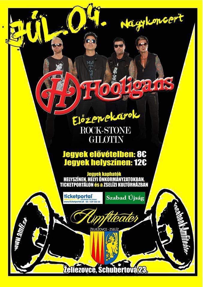 hooligans naptár Hooligans koncert Zselízen | ATEMPO.sk | Szlovákiai magyar zenei  hooligans naptár