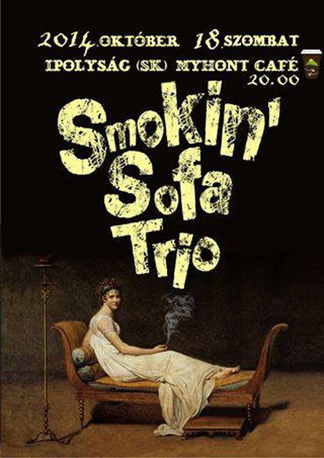 Smokin' Sofa Trio Ipolyságon