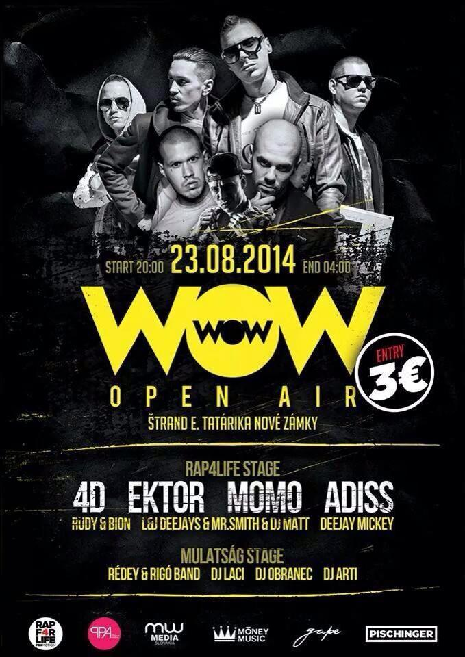 WOW Open Air 2014