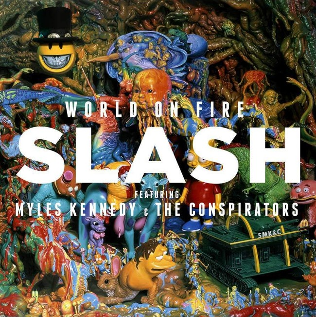 Slash (feat. Myles Kennedy and The Conspirators) – World On Fire