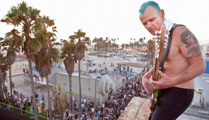 Red Hot Chili Peppers. Flea