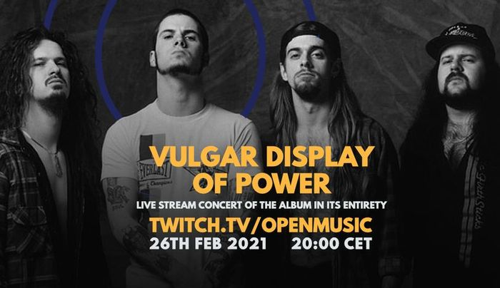 Pantera tribute online koncert a Vulgar Display Of Cover bandával - Open Music Channel