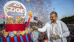 Mintegy 450 ezren szórakoztak az idei Sziget fesztiválon