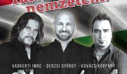 PREMIER: Vadkerti Imre, Derzsi György és Kovács Koppány közösen éneklik a Nemzeti dalt
