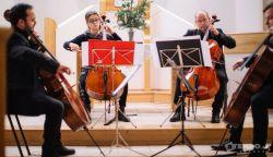 OTT VOLTUNK: Zenei utazás a Rácz Cello Quartettel