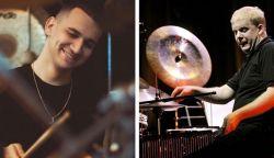 Két felvidéki fiatal dobos az idei GetCloser Jazz Festen
