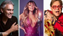 Mariah Carey, Elton John és Andrea Bocelli is bekapcsolódik otthonról egy adománygyűjtő koncertbe