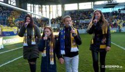 VIDEÓ: A csallóközi gyerekek a Puskás Aréna után a DAC stadionban is elénekelték a Nélküled-et