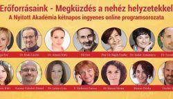 Ingyenes online előadás-sorozat indul ma neves közreműködőkkel – itt a program