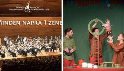 Színházi, bábszínházi előadások, koncerteket online a pécsi kulturális intézményektől