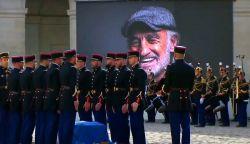 Az egyik legismertebb filmje zenéjével búcsúztatták Jean-Paul Belmondot (VIDEÓ)