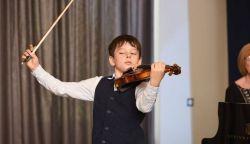 A pozsonyi Gertler Teo nyert a Talents for Europe hegedűversenyen