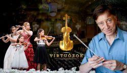 Ma este újra online Virtuózok koncert, ezúttal Vásáry Tamással