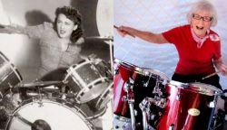 107 évesen elhunyt a női dobosok úttörője, Viola Smith