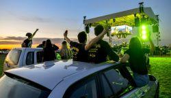 Két autós-koncertet adott a Tankcsapda (VIDEÓ)