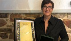 """""""A harminc éve szívvel-lélekkel végzett munkám elismerése ez a díj"""" - Vasváry Annamária a népművészet szolgálatában"""