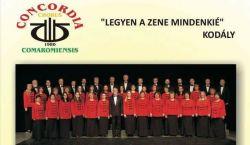 Énekelni jó - tagfelvétel a komáromi Concordia Vegyeskarban