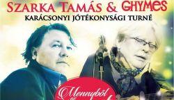 Szarka Tamás & Ghymes karácsonyi jótékonysági turnéra indul